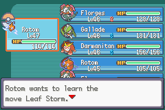 Nameless FireRed Project Screenshot