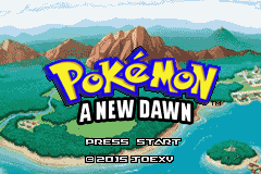 Pokemon A New Dawn Screenshot