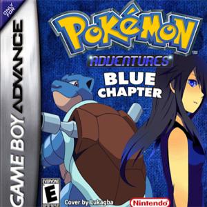 Pokemon Adventure Blue Chapter Box Art