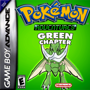 Pokemon Adventure Green Chapter Box Art