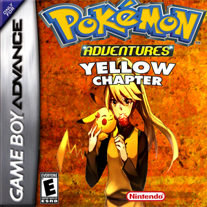 Pokemon Adventure Yellow Chapter Box Art