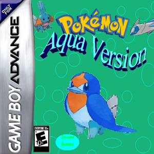 Pokemon Aqua Box Art