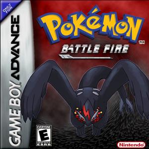 Pokemon Battle Fire Box Art
