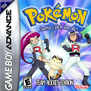 Pokemon Blasting Off / Pokemon Team Rocket Version Box Art