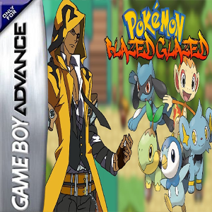 Pokemon Blazed Glazed Box Art
