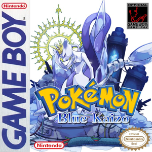 Pokemon Blue Kaizo Box Art