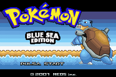 Pokemon Blue Sea Edition Screenshot