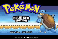 Pokemon Blue Sea Edition Screenshot