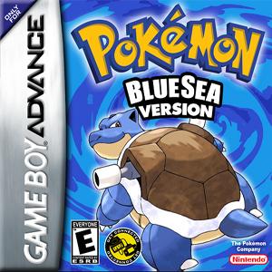 Pokemon Blue Sea Edition Box Art