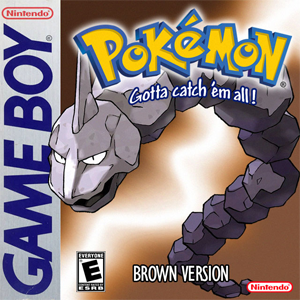 Pokemon Brown Box Art