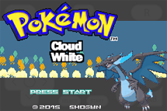 Pokemon Cloud White Screenshot