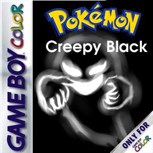 Pokemon Creepy Black Box Art