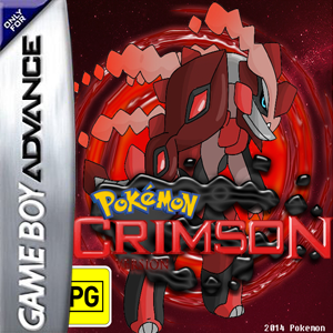 Pokemon Crimson Box Art