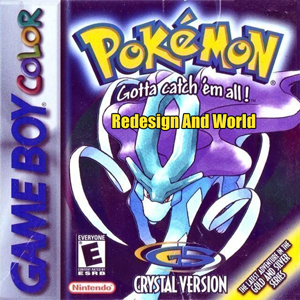 Pokemon Crystal Redesign And World Box Art