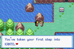 Pokemon CrystalDust Screenshot