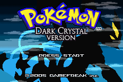 Pokemon Dark Crystal Screenshot
