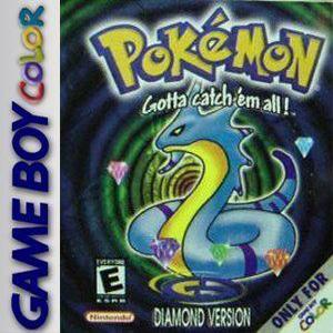 Pokemon Diamond Box Art
