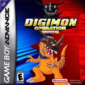 Pokemon Digimon: Operation Digipedia Box Art
