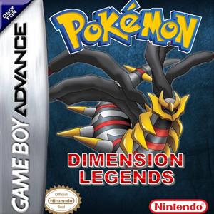 Pokemon Dimension Legends Box Art