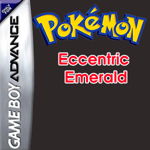 Pokemon Eccentric Emerald Box Art