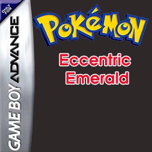 Pokemon Eccentric Emerald Box Art