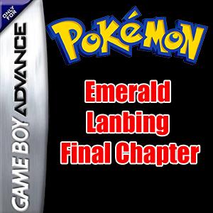 Pokemon Emerald Lanbing Final Chapter Box Art