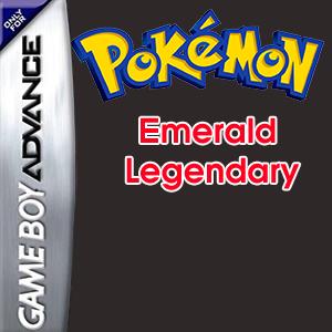 Pokemon Emerald Legendary Box Art