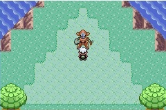 Pokemon Emerald Region Starter Screenshot