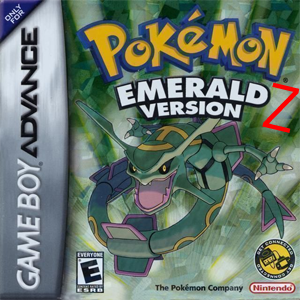 Pokemon Emerald Z Box Art