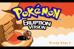 Pokemon Eruption Screenshot