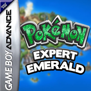 Pokemon Expert Emerald Box Art
