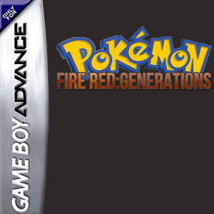 Pokemon Fire Red: Generations Box Art