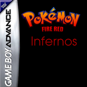 Pokemon Fire Red Infernos Box Art