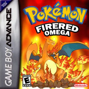 Pokemon Fire Red Omega Box Art