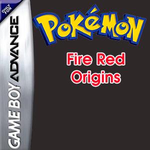 Pokemon Fire Red Origins Box Art