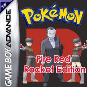 Pokemon Fire Red Rocket Edition Box Art