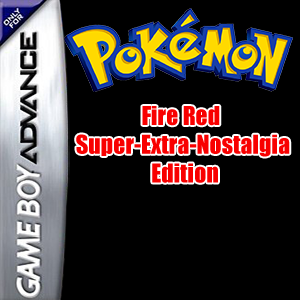 Pokemon Fire Red Super-Extra-Nostalgia Edition Box Art