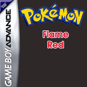 Pokemon Flame Red Box Art