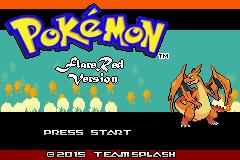Pokemon Flare Red Screenshot