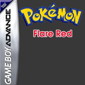 Pokemon Flare Red Box Art