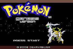 Pokemon Genesis Screenshot