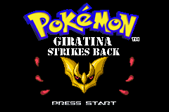 Pokemon Giratina Strikes Back Screenshot
