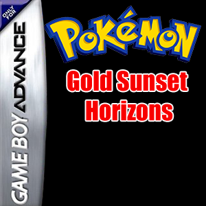 Pokemon Gold Sunset Horizons Box Art
