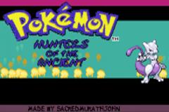 Pokemon Hunters of the Ancients Screenshot