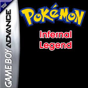 Pokemon Infernal Legend Box Art