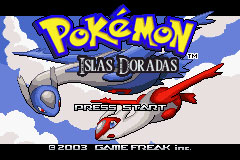 Pokemon Islas Doradas Screenshot