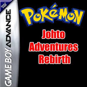 Pokemon Johto Adventures - Rebirth Box Art