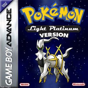 Pokemon Light Platinum Box Art