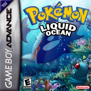 Pokemon Liquid Ocean Box Art