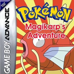 Pokemon Magikarp's Adventure Box Art